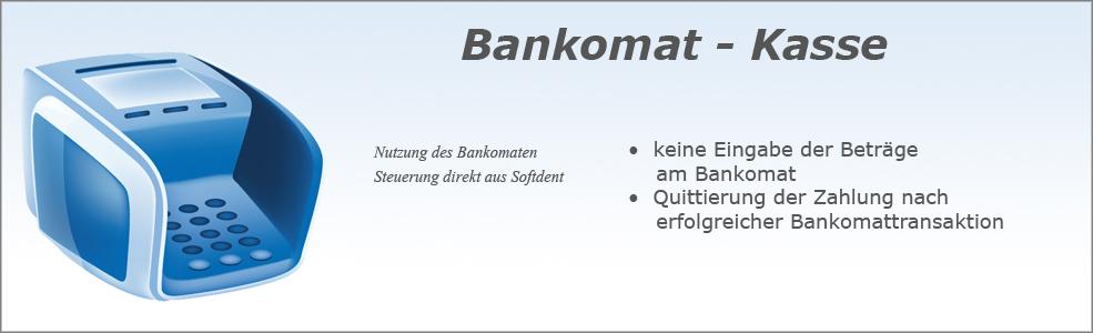 Softdent Physio - Bankomat Kasse