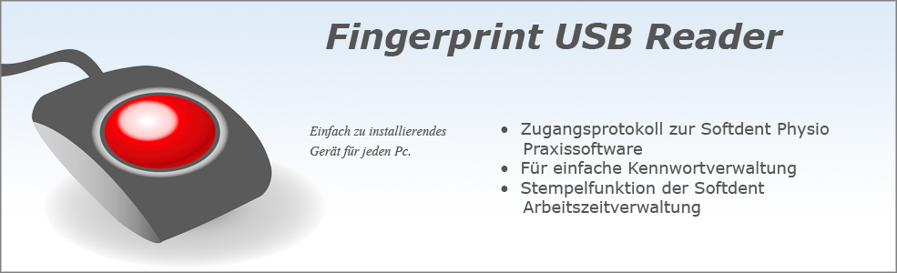Softdent Physio - Fingerprint USB Reader