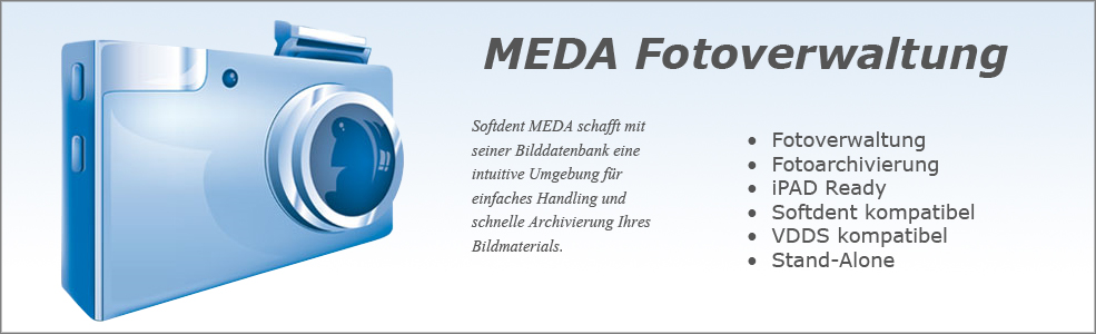 Softdent Physio - MEDA Fotoverwaltung
