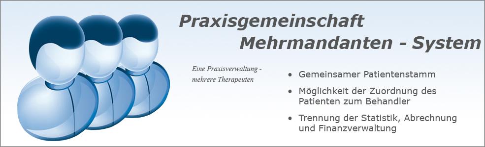 Softdent Physio - Mehrmandantensystem