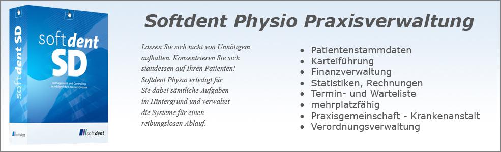 Softdent Physio - Praxisverwaltung