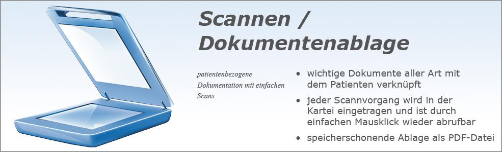 Softdent Physio - Scan & Dokumentenablage